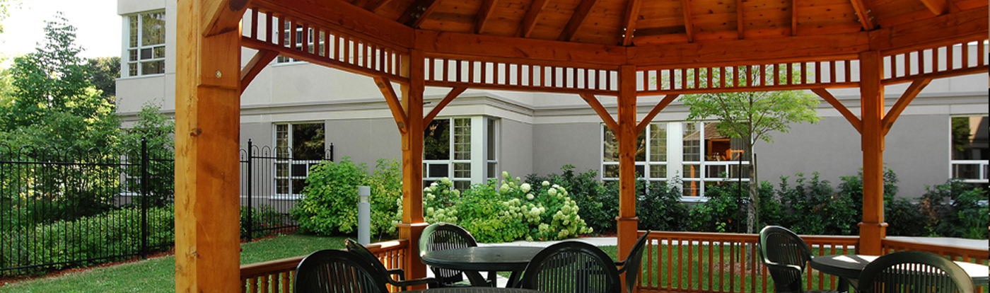 LTC Home gazebo inside